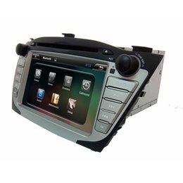 """Wholesale Android Ix35 - 7"""" digital panel android system gray clour GPS dual core car DVD player for HYUNDAI IX35 on sale(low equipment)"""