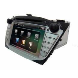 "Wholesale Hyundai Ix35 Dvd Gps - 7"" digital panel android system gray clour GPS dual core car DVD player for HYUNDAI IX35 on sale(low equipment)"