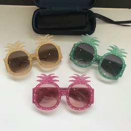 Wholesale Silver Pineapples - Limited edition sunglasses 0150 Specially designed style pineapple shape frame popular protection sunglasses fashion summer style for women