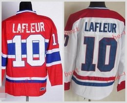 Wholesale Hockey Jersey Guy Lafleur - Canadiens #10 guy lafleur Cheap Hockey Jerseys ICE Winter mens women kids Stitched Jersey Free shipping