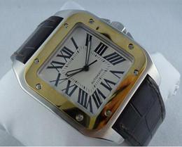 Wholesale Paper Calendars - LUXURY Original Box Papers BRAND NEW 100 XL W20072X7 Men's Watch Steel & 18K Gold Automatic Men's Watches Wristwatch Wrist Mens Watch
