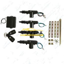 Wholesale Wholesale Entry Door Locks - new 4 Door Car Remote Keyless Entry Central Lock Locking Kit Car Remote Control Conversion car security alarm system