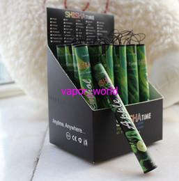 Wholesale Hookah Vapor Shisha Time - ShiSha Time E Hookah Pipe Pen Electronic Cigarettes Pipes Stick Sticks Shisha Hookah electronic smoking cigarette Huge Vapor