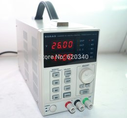 Wholesale Digital Regulated Power Supply - new upgraded version High Precision The Lab programmable Adjustable Digital Regulated power supply DC Power Supply 60V 5A mA 4Ps order<$18no