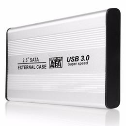 sata disco rígido caso usb Desconto TS-25HC305 USB 3.0 2.5 Polegada SATA de Alumínio Externo Caso HDD 5 GB / S Velocidade SSD Hard Disk Case Caixa de Gabinete Externo hd externo