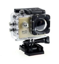 Wholesale New Focus Car - 50pcs 1080P Sports DV SJ4000 2 Inch 12Mega Pixels Full HD Helmet Camera Camcorder HDMI H.264 Car DVR 30 meters underwater 6 colors