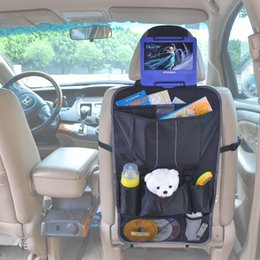 Wholesale Dvd Universal For Car - TFY Car Backseat Organizer - Multi-Pocket Storage with Headrest Mount for Portable DVD Player
