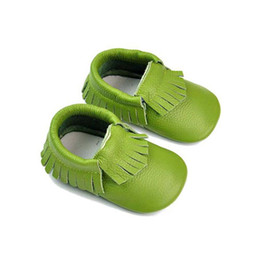 Wholesale Learn Walk Shoes - The New Genuine Leather Baby Shoes Girls And Boys Lovely Summer Shoes Skid Proof Off Fall Prevention Wholesale Learn To Walk Heat 2015