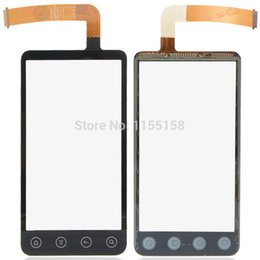 Wholesale Evo 3d Touch Screen - Wholesale-Free shipping Replacement Part Touch Screen Lens Fit For HTC EVO 3D G17 B0229 P