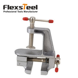 Wholesale Hobby Bench Vise - Durable Aluminum Mini Jewelers Hobby Clamp On Portable Table Bench Vise Vice Tool for DIY Jewellery Craft Mould Fixed Repair