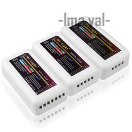 DC12-24V Mi lumière sans fil 10A 2.4G 4 zones RF sans fil RGB RGBW RGBWW LED contrôleur à distance Dimmer pour Led ampoule lampe ? partir de fabricateur
