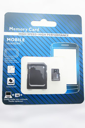 Wholesale Micros Sd - 2017 NEW 80pcs DHL 32GB 64GB 128GB Micro SD TF Memory Card Class 10 With Adapter Class 10 TF Memory Cards with Free SD Adapter