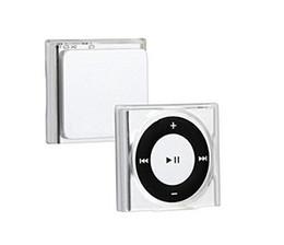 Custodia trasparente in cristallo trasparente con custodia rigida per iPod Shuffle 4 6 7 da