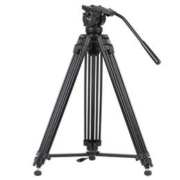 professionelles stativ für dslr Rabatt KINGJOY vt - 2500 professionelles Video Aluminium Kamerastativ mit einem Fluidkopf, 360 Kugelkopf DSLR Stativkamera