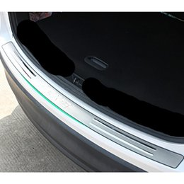 Wholesale Car Rear Bumper Protectors - For Mazda CX-5 CX5 2012 2013 2014 2015 2016 Stainless Steel Rear Bumper Protector Trim accessories CAR styling