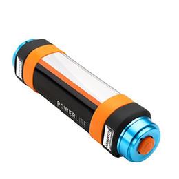 2019 aa batería cree led Linternas led Banco de energía portátil USB recargable IP68 a prueba de agua multicolor LED Luz de noche Lámpara repelente de mosquitos con emergencia SOS