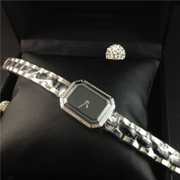 Wholesale Watches For Womens - Top Quality AAA Watch Luxury Womens Watch Black Diamante Ceramic Watches for Women C Brand Free Shipping