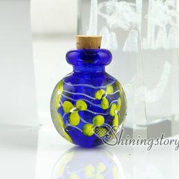 Wholesale Miniature Glass Bottles Wholesale - miniature glass bottles cremation ashes jewelry urn keepsake jewelry for ashes
