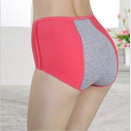 Wholesale Menstrual Leaks - Waist physiological pantscotton underwearfemale menstrual leak Ms.female pocketcotton underweartokeepwarmfreeshipping828