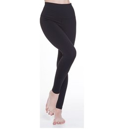 Wholesale High Waist Tight Leggings Ladies - Top quality 2017 high waist women Spandex yoga pants Female Elastic slim fit gym leggings workout lady lulu Running tights trousers Fitness