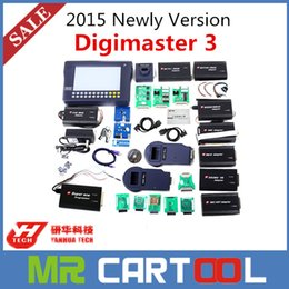 Wholesale Mileage Master - 2015 Newly Original YANHUA Digimaster 3 Digimaster III Odometer Correction Master with 980 Tokens DHL FEDEX Free shipping