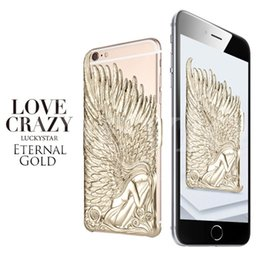 Wholesale Iphone 5s Soft Design - 2015 New Design Angel Wings Phone Case Soft Plastic Back Cover For iPhone 6 iPhone 6 Plus I5 5S Hot Sale Without package