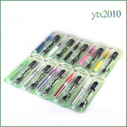 Wholesale Ego T Pack - Electronic Cigarette H2 Ego T Blister Pack 2.0ml Replaceable Coil GS H2 Vaporizer 650mah 900mah 1100mah Ecig EGo T Battery E cigarette