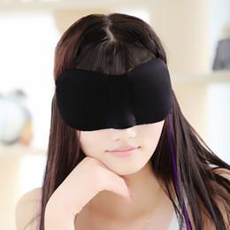 Wholesale Eye Shade Mask Blinder - Travel Sleeping Comfort Rest 3D Eye Mask Sponge Eye Shade Cover Blinder Blindfold Eye Patch