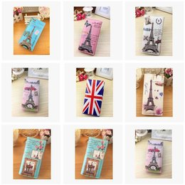 Wholesale Girl Rock Style Wholesale - Checkbook Women's Handbag PU Leather Purse Wallet 60 Design Girls wallets bags Lady Card Holder Bags Christmas Gifts wallet R1539