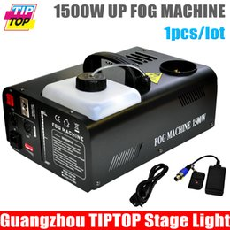 Canada Gros-bon marché Prix 1500W DMX Fog Machine Vertical machine à fumée Stade Mist Effet 110V-240V DMX pour Disco DJ Party Vaporiser Up party smoke machine on sale Offre