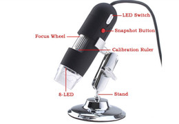 Wholesale Video Camera Repair - 1-500X 50-500X LED Light USB Digital Microscope Endoscope Magnifier Video Camera for repairing searching