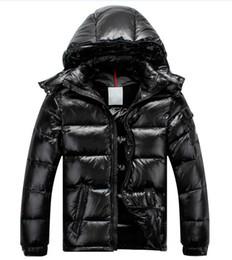 Wholesale Womens Fur Winter Hats - Men Women Classic brand Casual Down Jacket mens Down Coats Womens Outdoor Fur Collar Warm Unisex Winter warm Coat outwear Parkas S-3XL