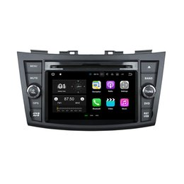 Wholesale Android Din Car Stereo - 7'' Android 7.1 Car DVD GPS Navi Stereo Radio Player For Suzuki Swift 2011-2012 With Camera 2016 Map