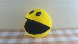 """Wholesale Ghost Plush - Pixel Blast 16CM Pac-Man 6"""" New Movie Pixels Plush Toys Pacman Stuffed Toy Doll 15CM Deluxe Small Ghost"""