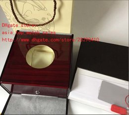 Wholesale High Quality Paper Boxes - Factory sale High Quality PP Brand Watch Original Box Papers Handbag Card Transparent Glass Gift Watch Boxes For Nautilus CAL.5711 1A Watch