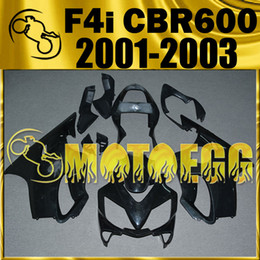 Wholesale Cbr F4i Body Kits - In Stock Motoegg Unpainted (Unpolished)Fairings Injection Mold For Honda CBR600F4i CBR 600 F4i 2001 2002 2003 01 02 03 Body Kit H61M00