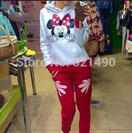 Wholesale Character L - 2015 new spring brand sports clothing women sport suit tracksuits Cartoon printed kawaii sweatshirt female S M L FG1511