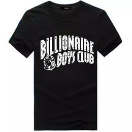 Wholesale Bbc Blue - Fashion Mens BILLIONAIRE BOYS CLUB T Shirt Tee BBC T Shirts Men's Hip-hop Skateboard T shirts Cotton Shirt Tees Tops