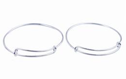 Wholesale Expandable Bangle Bracelet Wholesale - 10PCS Fashion Expandable Wire Bangle Bar Bracelets FREE SHIPPING