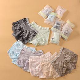 Wholesale Ladies Underpants Sizes - 2017 New Arrivals Women High Waist Cotton Comfortable Panties Ladies Plus Size High Elasticity Lace Sexy Lingerie Underwear Briefs Underpant