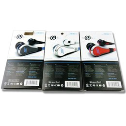 Fones de ouvido mudo mic on-line-50 Cent sms fone de ouvido fio de macarrão fones de ouvido de alta qualidade 50cents fone de ouvido com fio no ouvido com microfone e mudo botão STREET by 50-Cent earbud