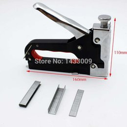 Wholesale BOYI Free Freight Company Nail Gun Photo Furniture Floor Binding Billboards Type Nail Sofa Tool DIY Manual Stapler Advertising