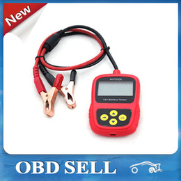 Wholesale Design Cell Battery - Super Original AUTOOL BST-100 BST100 Battery Tester with Portable Design Directly Detect Bad Cell Battery Free Shipping