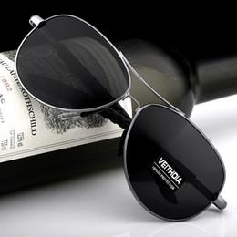 Wholesale Freedom Alloys - Veithdia Aluminum Magnesium Happy Freedom Sunglasses 3 Colors Polarized Men Sunglass Accessories Oculos De Sol Feminino 3088