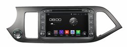 """Wholesale Kia Picanto Stereo - 4-Core 1024*600 HD 8"""" Android 4.4 Car DVD Player for Kia Picanto morning 2011-2014 With GPS 3G WIFI Bluetooth IPOD TV Radio RDS USB AUX IN"""