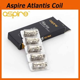 Wholesale Coil Replacements - Original Aspire Atlantis Updated Coil Head 0.3ohm 0.5ohm 1.0ohm For Atlantis 2 II Tank Atomizer Replacement Coil 100% Authentic