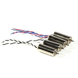 Wholesale V911 Rc - original Hubsan X4 H107C motor RC Spare parts 8*20mm motor for H107C H107D V911 U816