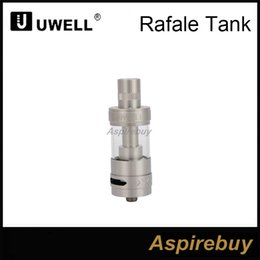 Wholesale Unique Tank Tops - Uwell Rafale Sub Ohm TC Tank 5ml Capacity 22mm Diameter Top Fill Method Dual Adjustable Airflow RBA Unique Parallel Coil Design 100%Origina