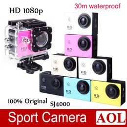 Wholesale motorcycles images - Sport Action Camera Diving 1080P Full HD DVR DV 30M Waterproof extreme Sport Helmet Action Camera Motorcycle CAR DVR Home Security SJ4000
