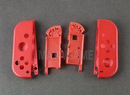 alojamiento del controlador Rebajas Para Mario rojo Reemplazo Izquierda Derecha Vivienda dura Shell cubierta de la caja para Nintendo NS Switch manejar Joy-Con Controller